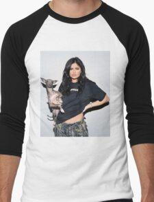 Kylie Jenner Dog Men's Baseball ¾ T-Shirt