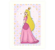 Princess Peach! Art Print