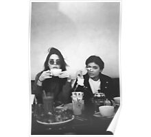 Kendall Jenner and Kylie Jenner Tea Classy Poster