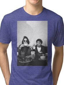 Kendall Jenner and Kylie Jenner Tea Classy Tri-blend T-Shirt