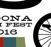 SEDONA 2016 Muni Fest - small logo style Sticker
