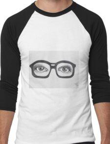 Glasses Men's Baseball ¾ T-Shirt