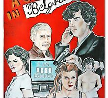 scandal in belgravia vintage poster by MarNaLua
