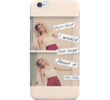 Paper Hearts Lyrics- Tori Kelly iPhone Case/Skin
