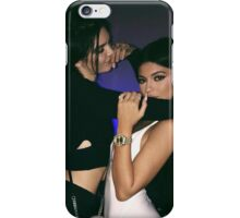 Kendall Jenner and Kylie Jenner Love iPhone Case/Skin