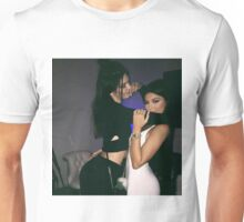 Kendall Jenner and Kylie Jenner Love Unisex T-Shirt