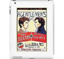 gentlemen's fight iPad Case/Skin