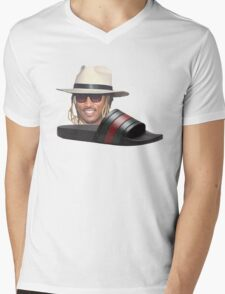Future In Some Gucci Flip Flops Mens V-Neck T-Shirt