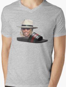 Future In Some Gucci Flip Flops Mens V-Neck T-Shirt