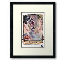 Patron Saint of Addicts Framed Print
