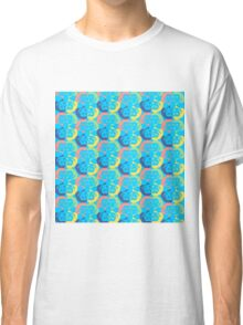 Audrey Red Green Violet Yellow Cyan Classic T-Shirt