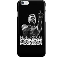 Notorious Conor McGregor (Frame) iPhone Case/Skin