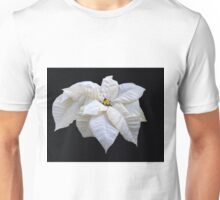 White Star Poinsettia Unisex T-Shirt