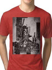 The Iron Windmill  Tri-blend T-Shirt
