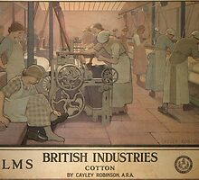 Vintage poster - British Industries by mosfunky