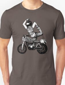 Women Who Ride - Powered by the Blood of my Enemies  T-Shirt