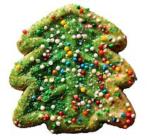 Christmas Cookie 1 Photographic Print