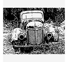 International Harvester KB-7 Photographic Print