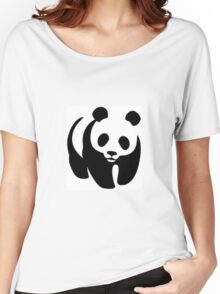 Panda animation Women's Relaxed Fit T-Shirt