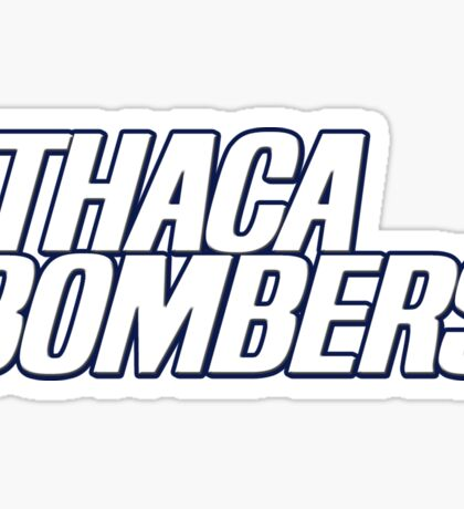 Ithaca College Bombers Sticker