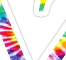 Delta Zeta - Tie Dye Sticker