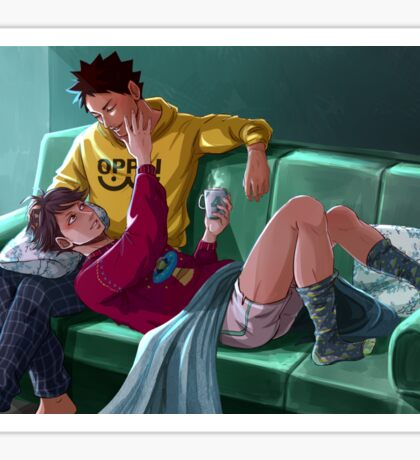Together forever - Iwaoi Sticker