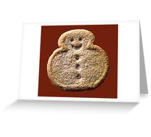 Christmas Cookie 4 Greeting Card