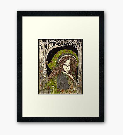 Aran Framed Print