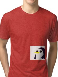 Adventure Time - Gunter  Tri-blend T-Shirt