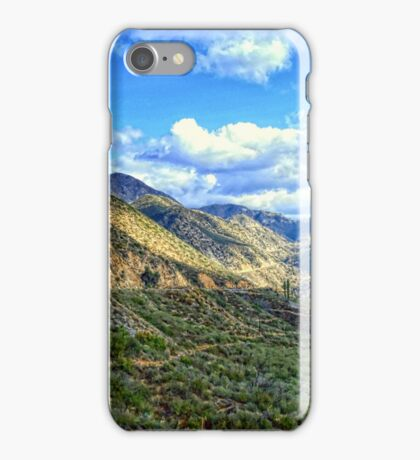 """San Gabriel Mountains, Angeles National Forest"" iPhone Case/Skin"