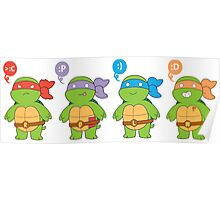 Turts and Emotes Poster