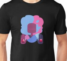 Garnet - Cotton Candy Simple Unisex T-Shirt