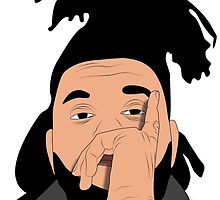 The Weeknd by dovepop