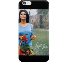 Sophia Loren carrying a basket iPhone Case/Skin