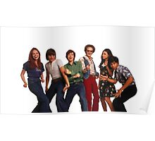 That '70s Show Gang Poster