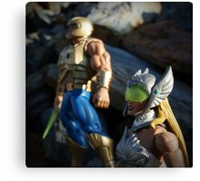 Masters of the Universe Classics - He-Man and She-Ra New Adventures Canvas Print