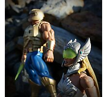 Masters of the Universe Classics - He-Man and She-Ra New Adventures Photographic Print