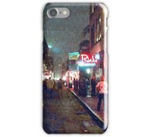 """Bourbon Street - New Orleans"" iPhone Case/Skin"