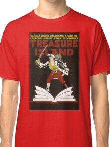 Vintage poster - Treasure Island Classic T-Shirt