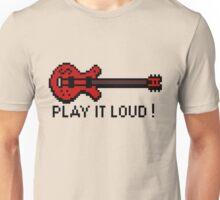 Guitar - Play It Loud Unisex T-Shirt