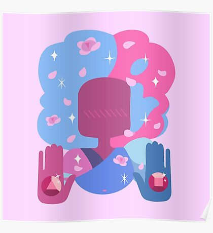 Garnet - Cotton Candy Pastel Poster