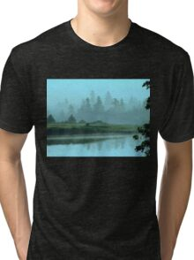 Turquoise Tranquillity Tri-blend T-Shirt