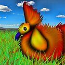 Prarie Chicken Heavy Orange by GolemAura