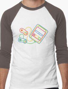 Super Famicom Men's Baseball ¾ T-Shirt