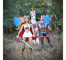 Masters of the Universe Classics - She-Ra, Sea Hawk & Swift Wind Photographic Print