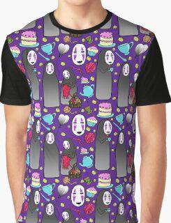Tea Party No-Face Graphic T-Shirt