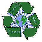 Save the Planet - Recycle by 321Outright