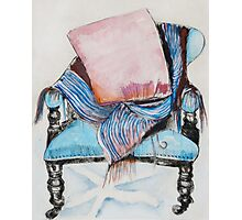 Elegant Chair by Judy Brown Photographic Print