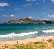Mona vale beach on Sydneys Northern Beaches by Martin Berry Photography