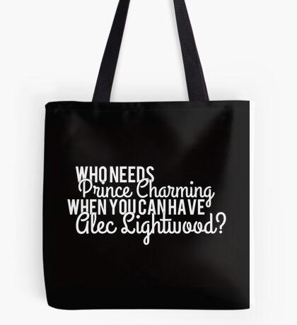 Prince Charming - Alec Lightwood Tote Bag